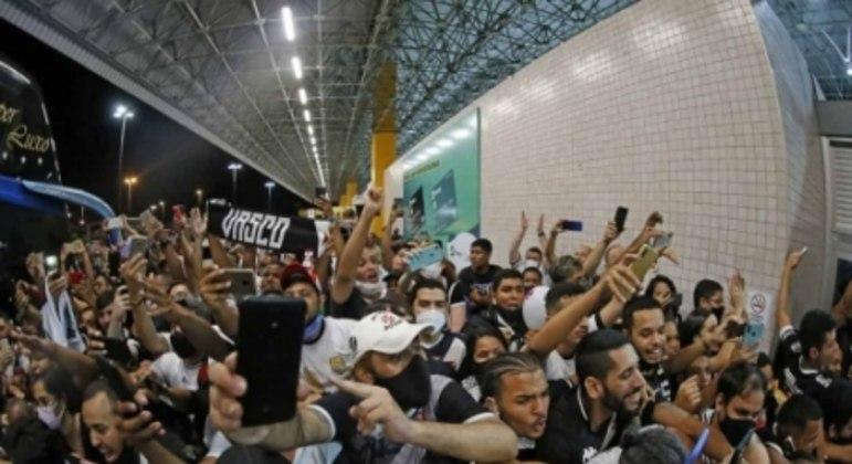 Torcida do Vasco em Aracaju