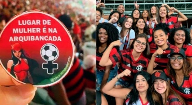 Torcida Feminina - Flamengo