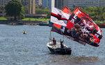 torcida Flamengo, embarque aeroporto,