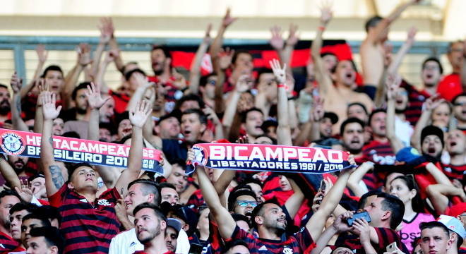 Torcida do Flamengo está bastante confiante no título