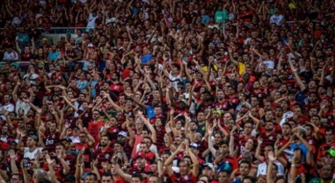 Torcida - Flamengo x Barcelona de Guayaquil
