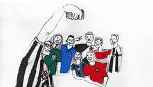 Papel invertido: Torcedores vestem a camisa do maior rival por um dia