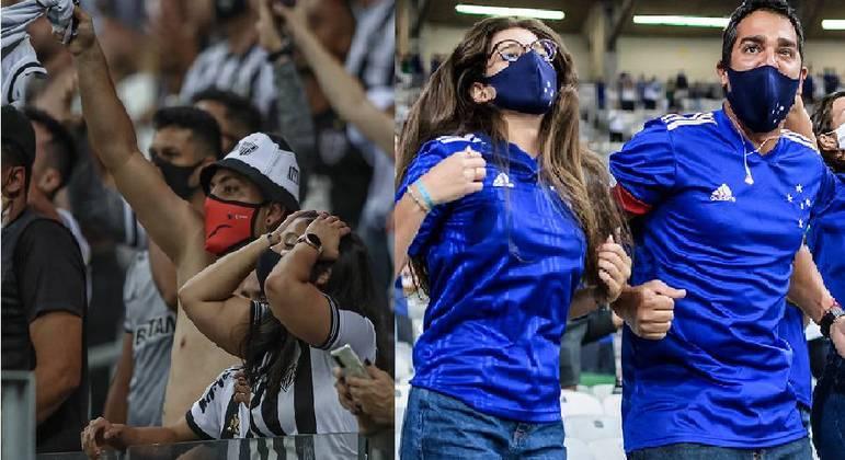 Torcedores não precisarão mais apresentar exame negativo para covid-19 em Belo Horizonte