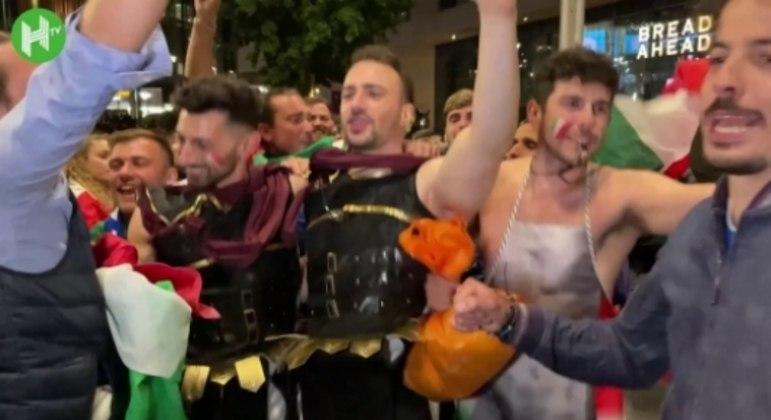 Torcida italiana