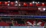 torcida, mosaico Flamengo,