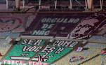 torcida, mosaico Fluminense,