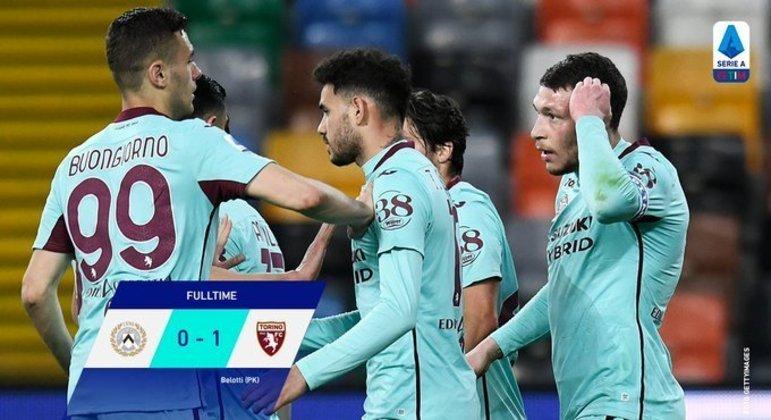 Torino, uma vitória que afasta o clube do rebaixamento