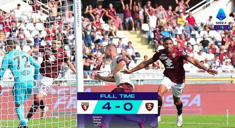 Torino, sem problemas em seus domínios