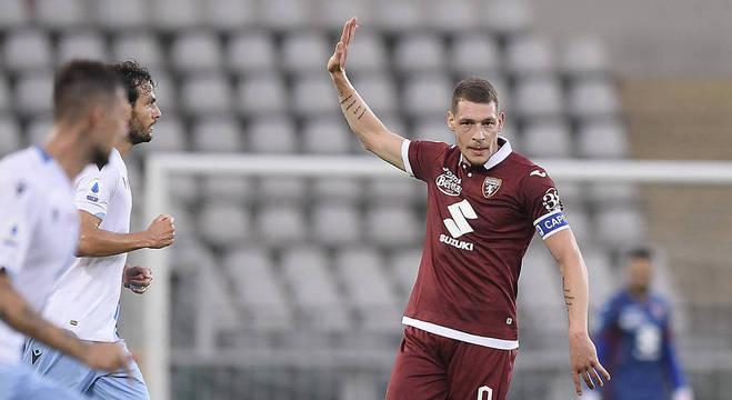 Belotti, a vâ esperança do Torino, aos 4'