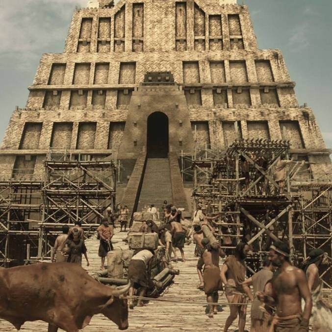 A história da famosa Torre de Babel está sendo contada em Gênesis, na Record TV