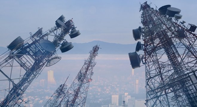 Com a incorporação da tecnologia 5G, haverá cada vez mais torres de transmissão