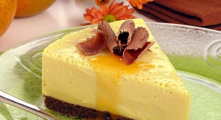 Torta de laranja e chocolate