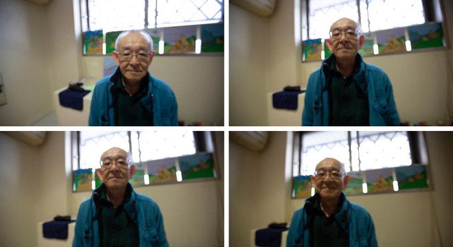 Toshio decorou a cela na prisão com ilustrações feitas por ele