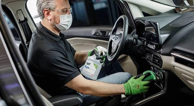Produto da 3M será usado no procedimento de limpeza e desinfecção à base de Peróxido