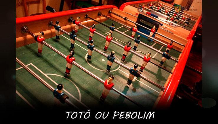 Totó: Se tem Ping Pong nos Jogos Olímpicos, por quê não tem Pebolim?