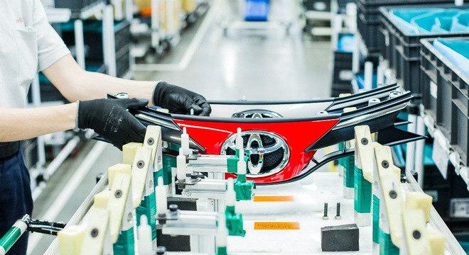 Toyota inicia retomada da produção nesta semana em todo o país após 3 meses de interrupção