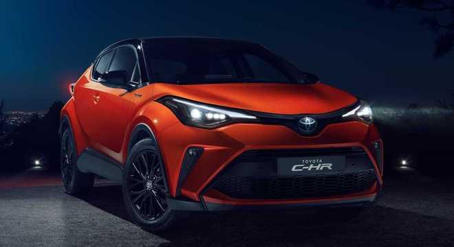 Toyota C-HR recém apresentado na Europa: alterações visuais bem discretas