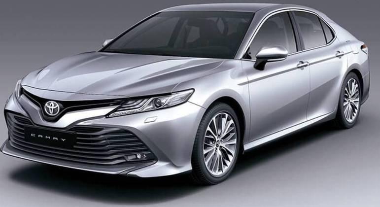 Toyota convocou Camry modelo 2019