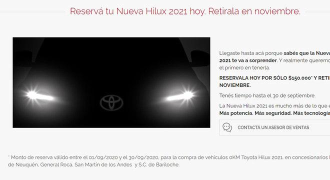 Envio de e-mail a clientes da marca, segundo publicação no Argentina Autoblog