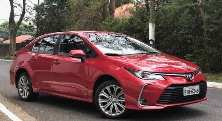 Recentemente sedã perdeu multimídia Toyota Play por falta de peças