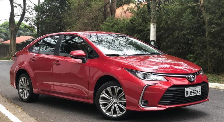 Toyota Corolla volta a ser comercializado como opção PcD
