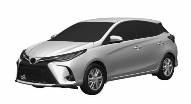 Toyota Yaris registrado na Argentina com discreto facelift na dianteira