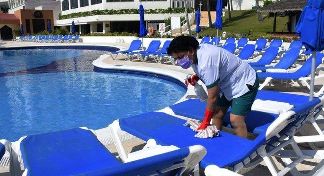 Na véspera do que seria sua alta temporada, Cancún faz reabertura 'lenta e gradual' após pandemia de coronavírus