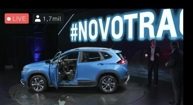 Lançamento do carro foi feito pela internet via transmissão ao vivo