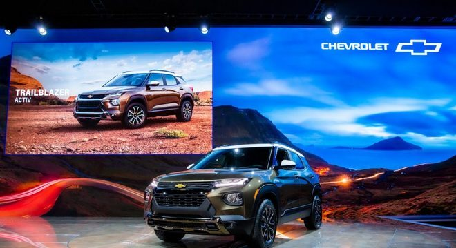 Trailblazer é SUV compacto nos Estados Unidos e aqui deve ficar entre o Tracker e Equinox