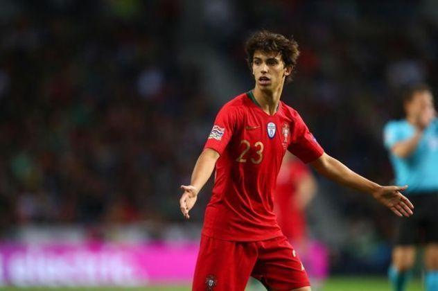 Trajetória na seleção - João Félix estreou na seleção principal de Portugal em 2019, já conquistando a Liga das Nações da UEFA. Ao todo, foram cinco jogos pelo selecionado, mas não marcou gols.
