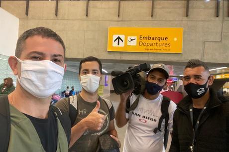 Equipe da Record TV que percorrerá a Transamazônica