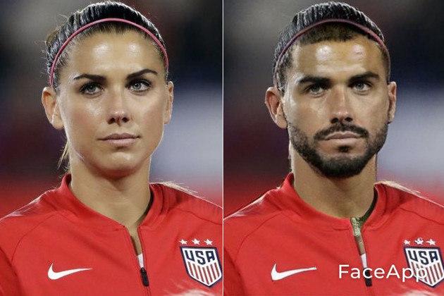Transformação da Alex Morgan, jogadora de futebol dos Estados Unidos