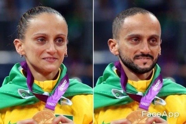 Transformação da ex-atleta de vôlei Fabi