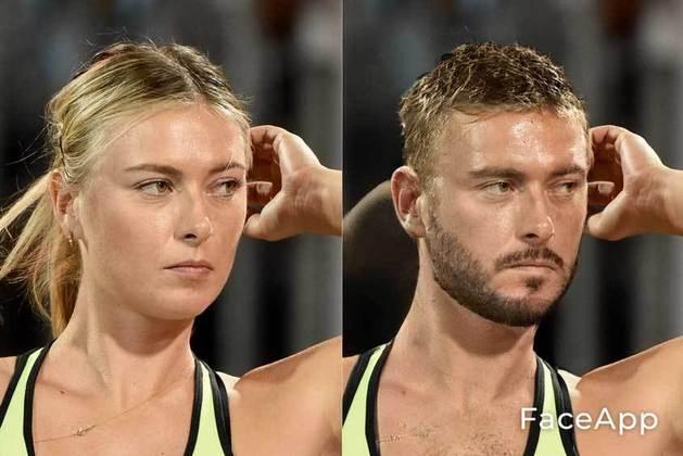 Transformação da ex-tenista Maria Sharapova