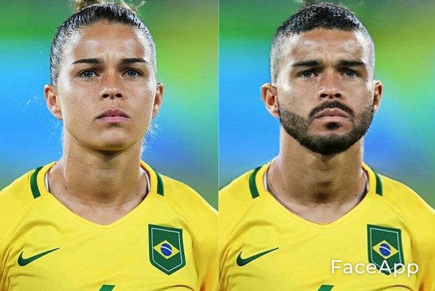 Transformação da lateral da seleção brasileira Tamires
