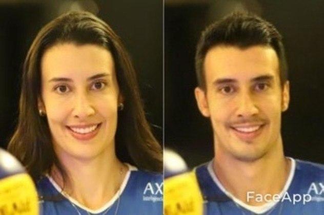 Transformação da Sheilla, atleta de vôlei
