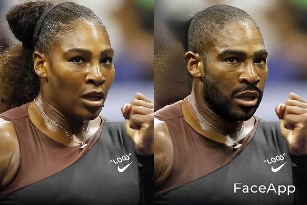 Transformação da tenista Serena Williams