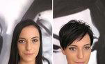 Segundo Kristina, o sucesso do salão está em oferecer cortes de cabelo adequados. É preciso avaliar preferências, personalidade e carisma