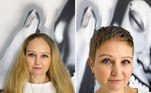 Além de prático, o cabelo curto pode ressaltar ainda mais a beleza de uma mulher. Em Moscou, na Rússia, ahairstylist Kristina Katsabina decidiu registrar o antes e depois de clientes que deram adeus ao cabelão. Veja, a seguir, as melhores transformaçõesInspire-se também: Cabeleireiro de famosas ajuda grisalhas a aceitarem fios brancos