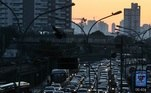 Trânsito na Radial Leste