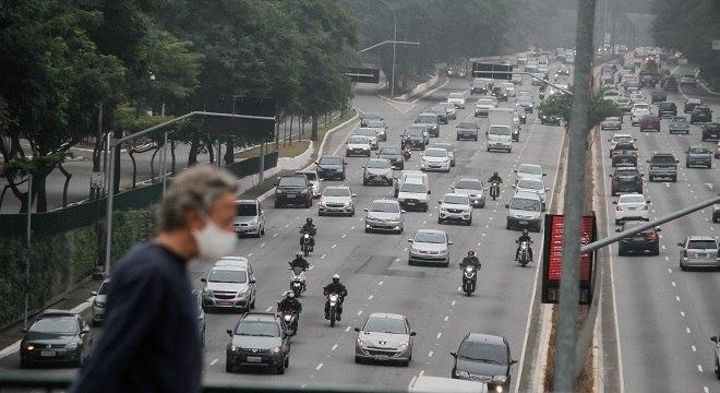 Na imagem, avenida 23 de Maio na volta do modelo tradicional de rodízio