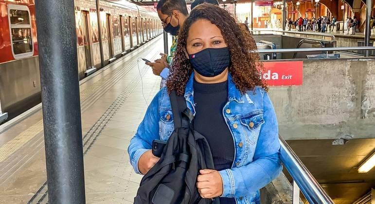 Josilene Costa saiu da zona leste para o Jardim Paulista: 'A gente precisa trabalhar'
