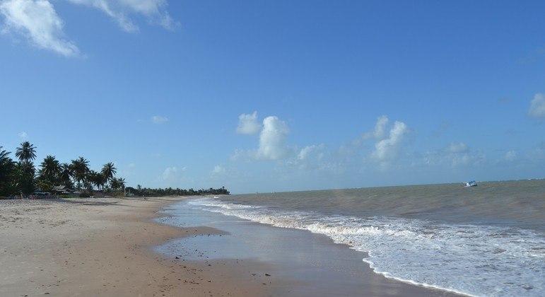 Trechos de praias