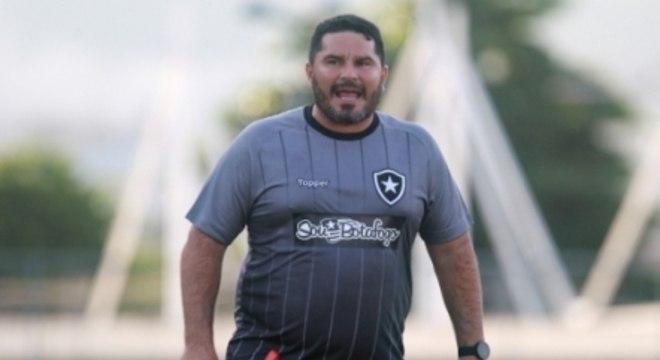 Treino Botafogo - Eduardo Barroca