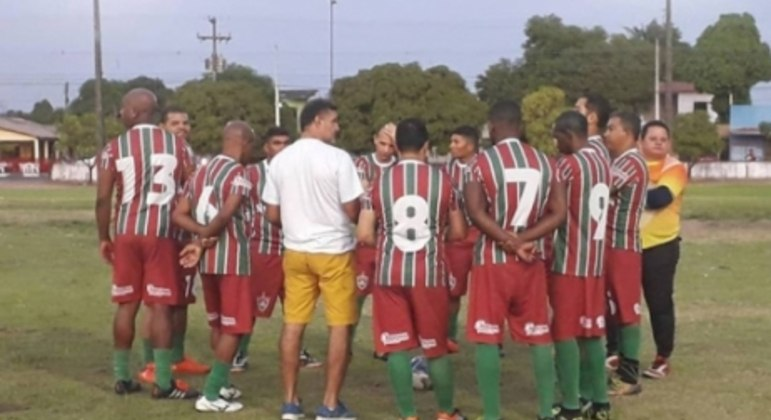 treino do Atlético Roraima