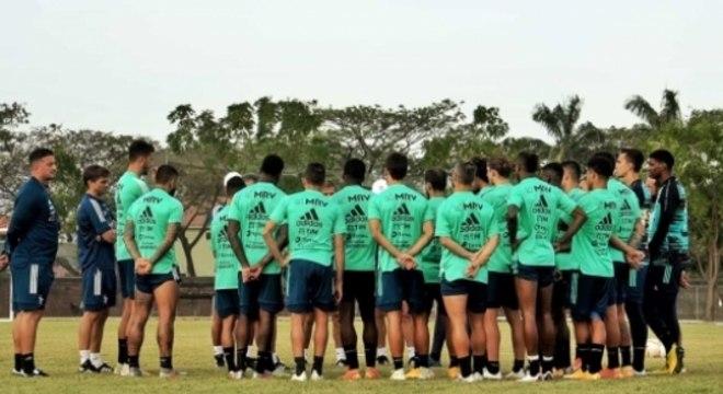 Treino do Flamengo - Guayaquil - Libertadores