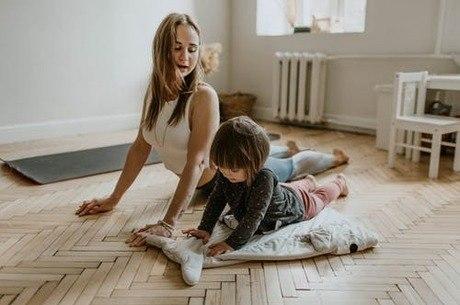 Crianças devem ter supervisão de adultos nos exercícios