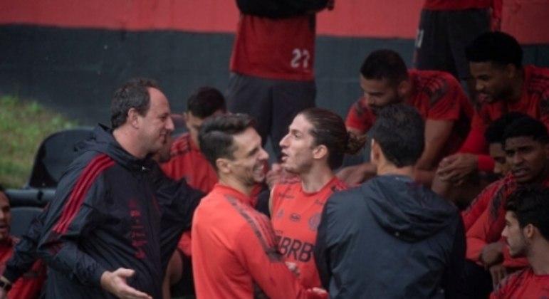 Treino Flamengo