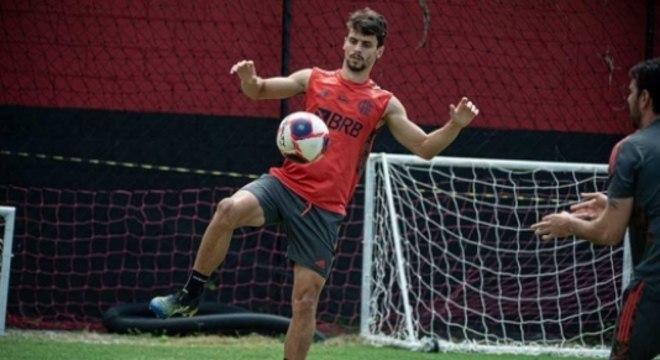 Treino Flamengo - R. Caio