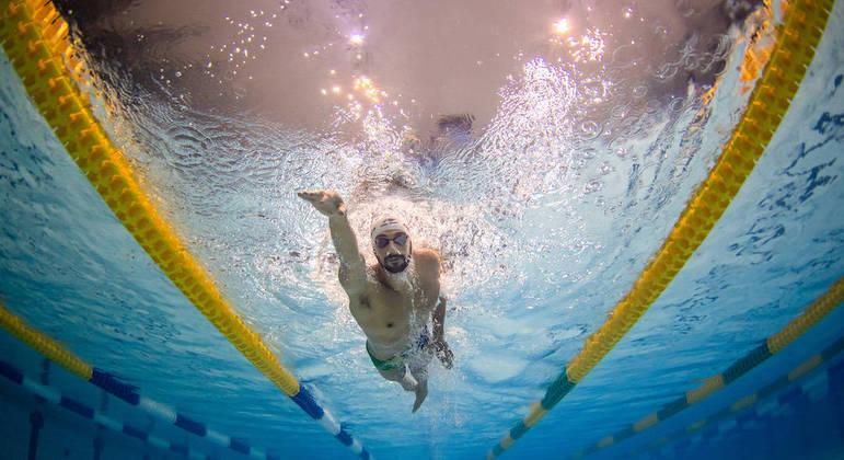 Léo de Deus, de 30 anos, está em sua terceira edição de Jogos Olímpicos